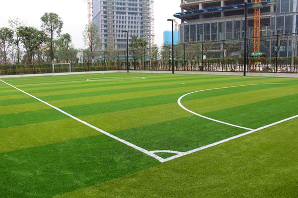 人造草足球场建设