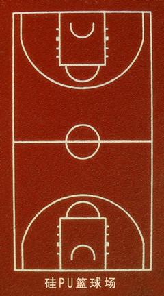 篮球场标准尺寸图及最新篮球场标准尺寸划线方法