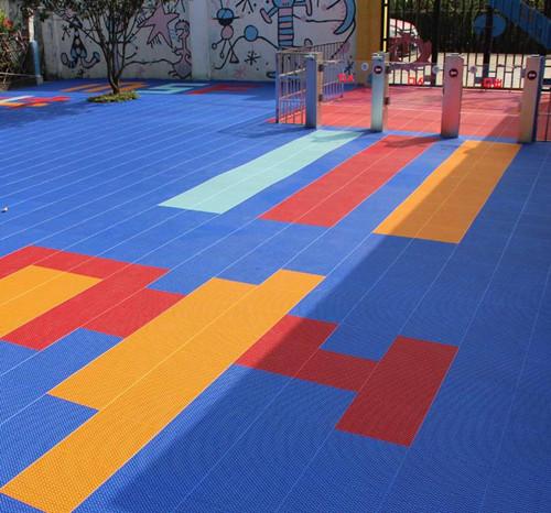 幼儿园软悬浮地板 幼儿园塑胶地板 幼儿园防滑地板厂家