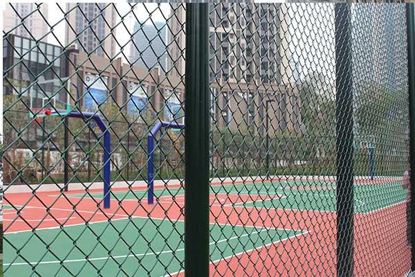 专业篮球场围网 网球场围网 足球围网灯光设施工程安装建设
