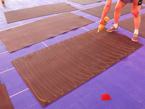 木地板羽毛球场价格