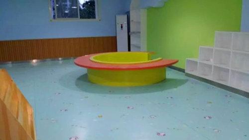 幼儿园PVC地面