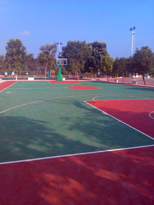 广东丙烯酸篮球场