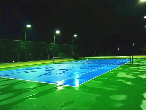 网球场工程建设