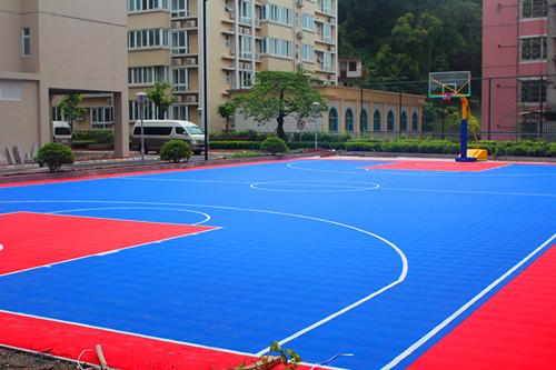 悬浮地板篮球场-专业悬浮地板篮球场铺设厂家