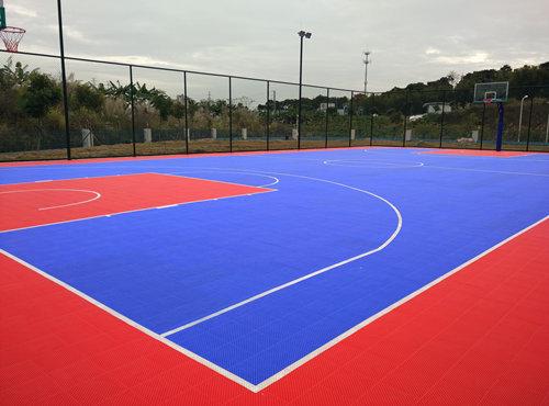 广州篮球场建设